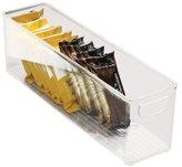 InterDesign Refrigerator, Freezer, Pantry Cabinet Organizer Bin for Kitchen - 41 x 10.5 x 13 cm, Clear