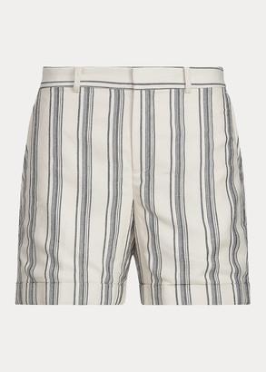 Ralph Lauren Striped Linen Twill Short