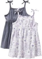 T&G Jersey Sundress 2-Packs for Baby