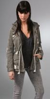 Bleach Splattered Army Jacket