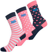 Superdry Fluro Pink Sock Triple Pack