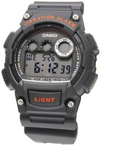Casio Men's Light Dark Grey Resin Digital