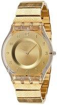 Swatch Women's Skin SFK355G Stainless-Steel Swiss Quartz Watch