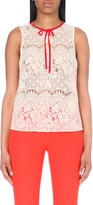 Claudie Pierlot Trich lace top