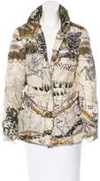 Roberto Cavalli Printed Down Coat