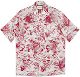 Gucci Sea Storm print bowling shirt