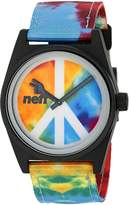 Neff Unisex NF0209HIPP Daily Woven Analog Display Japanese Quartz Multi-Color Watch