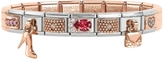 Nomination Classic Couture&Charms Rose Gold and Stainless Steel Bracelet w/Cubic Zirconia
