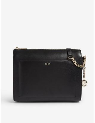 DKNY Bryant saffiano leather cross-body bag