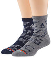 adidas 2 Pair Quarter Socks-Mens