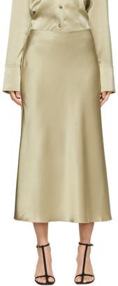 Nanushka Beige Razi Mid-Length Skirt