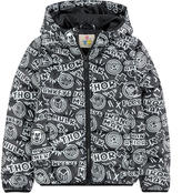 Little Eleven Paris Marvel padded coat