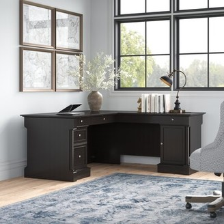 Three Posts Walworth L-Shape Executive Desk