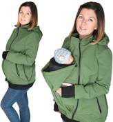 FUN2BEMUM 3in1 ALL WEATHER Softshell Babywearing jacket maternity coat BABY CARRIER NP16