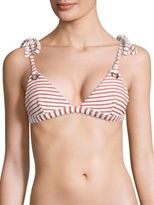 Mara Hoffman Terry Grommet Triangle Bikini Top