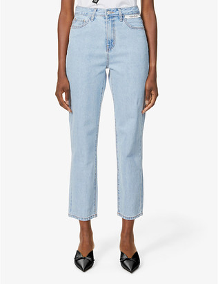 Kimhekim Label tapered mid-rise jeans