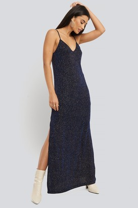 MANGO Vestibri Dress Blue