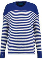 MiH Jeans Delmar Breton Striped Merino Wool Sweater