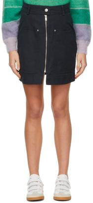 Etoile Isabel Marant Black Pilademi Miniskirt