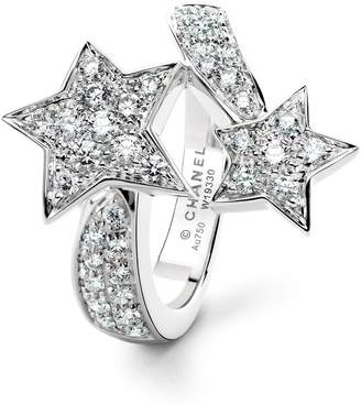Chanel White Gold and Diamond Comete Ring