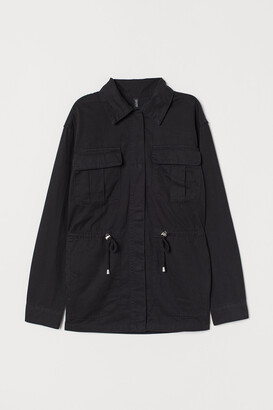 H&M Short cotton parka