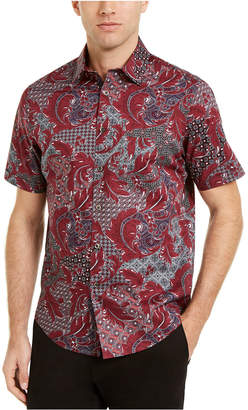 Tasso Elba Men Multi-Pattern Shirt