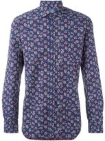 Barba floral pattern shirt