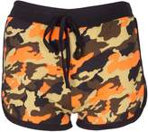 Noroze Womens Camouflage Hot Pants Ladies Army Shorts (, L)
