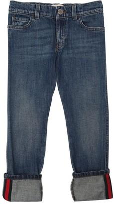 Gucci Stretch Cotton Denim Jeans