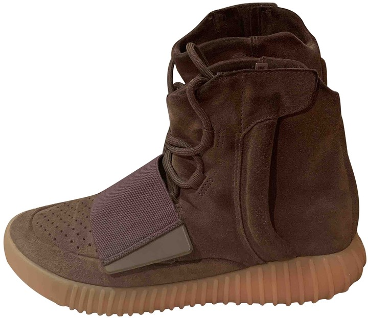 Yeezy X Adidas Boost 750 Brown Suede Trainers