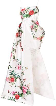 Alex Perry Reid floral dress