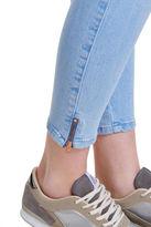 Only NEW Carmen Regular Crop Zip Denim Jean Lt Blue