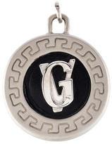 Gianni Versace Leather Logo Pendant