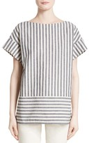 Lafayette 148 New York Women's Lori Stripe Blouse