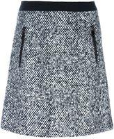 Moncler bouclé style knit skirt - women - Polyamide/Mohair/Virgin Wool - 46