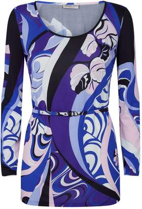 Emilio Pucci Patterned Belted Top