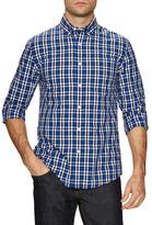 Jack Spade Palmer One Pocket Oxford Plaid Sportshirt