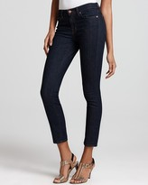 """J Brand 811 Mid-Rise 11"""" Skinny Jeans in Pure Wash"""