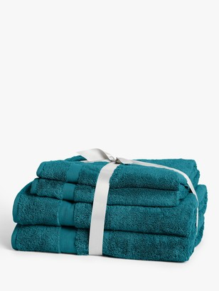 John Lewis & Partners Egyptian Cotton 4 Piece Towel Bale