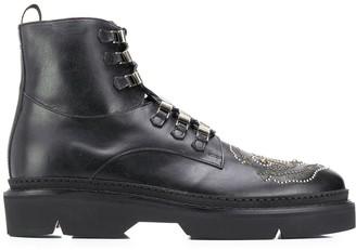 Etro Studded Combat Boots