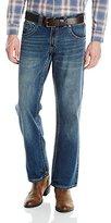 Wrangler Men's Rock 47 Relaxed Fit Boot Cut Jean