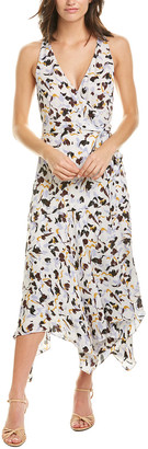 A.L.C. Roslyn Silk Midi Dress