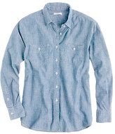 J.Crew Japanese selvedge chambray shirt