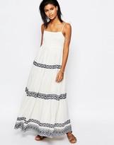 Tularosa Blayke Maxi Dress with Embroidery