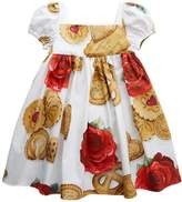 Dolce & Gabbana Biscuit Print Dress And Bloomers