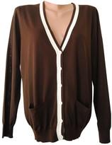 Ralph Lauren Brown Silk Knitwear