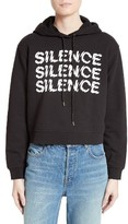 McQ by Alexander McQueen Women's Graphic Crop Hoodie
