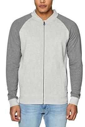 Esprit edc by Men's 029CC2J013 Sweatshirt, (Light Grey 040)