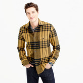 J.Crew Wool-blend shirt-jacket in blanket plaid