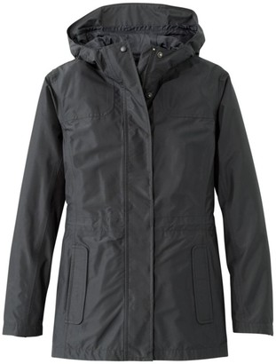 L.L. Bean Women's H2OFF Rain Jacket, PrimaLoft-Lined
